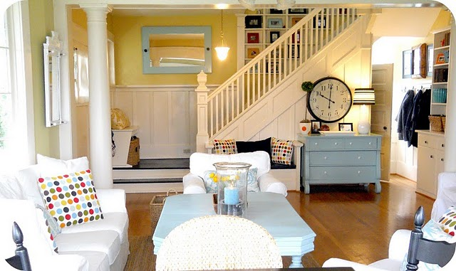 Modern Cottage Living Room : modern cottage look  Home ideas  Pinterest