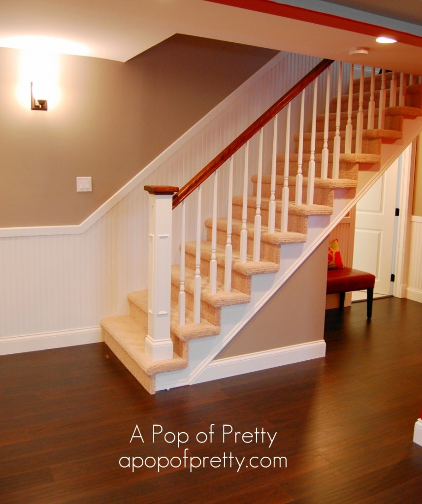 Basement Stairs Design: A Room Tour Of Our Renovated Basement