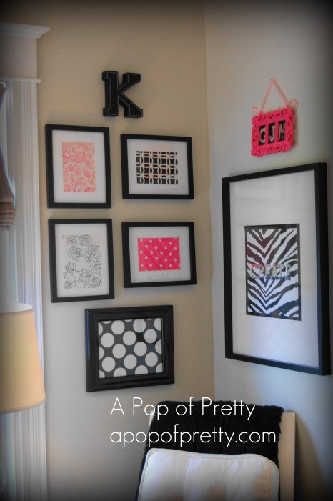 My Pink Craft Room A Pop Of Pretty Blog Canadian Home