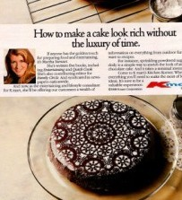 "1988 Martha Stewart / K Mart Ad, Source: ""Found in Mom's Beasement"""