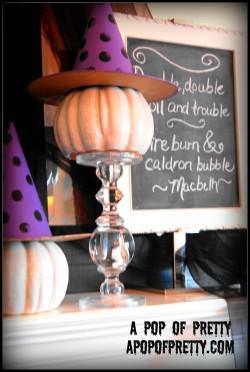 Halloween Mantel 7