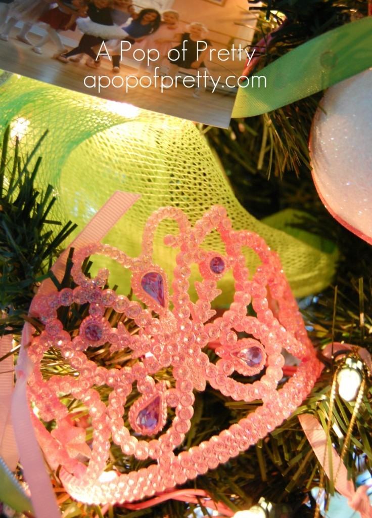 Christmas Tree Decor for Ballerina