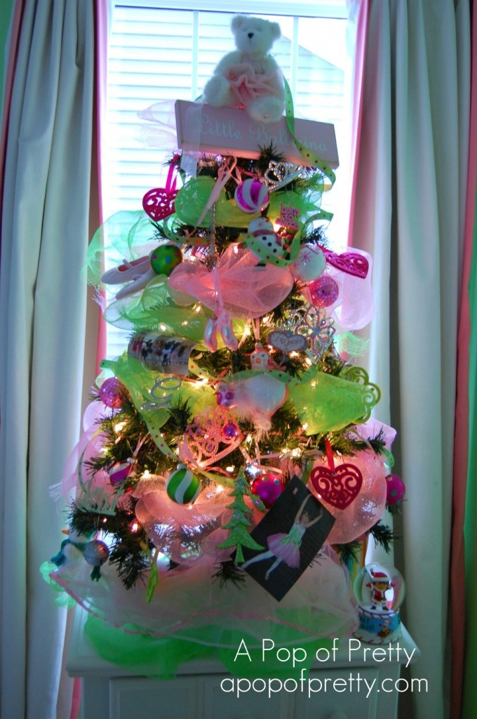 Pretty Little Ballerina ChristmasTree