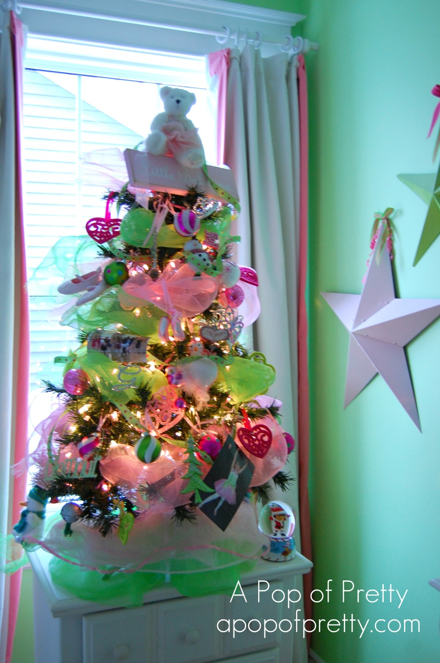 how to decorate a ballerina christmas tree a pop of