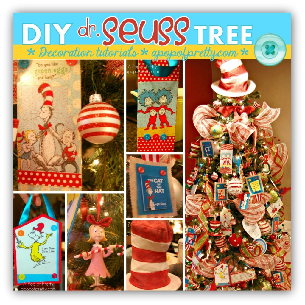 Dr Seuss Christmas Tree Decorations