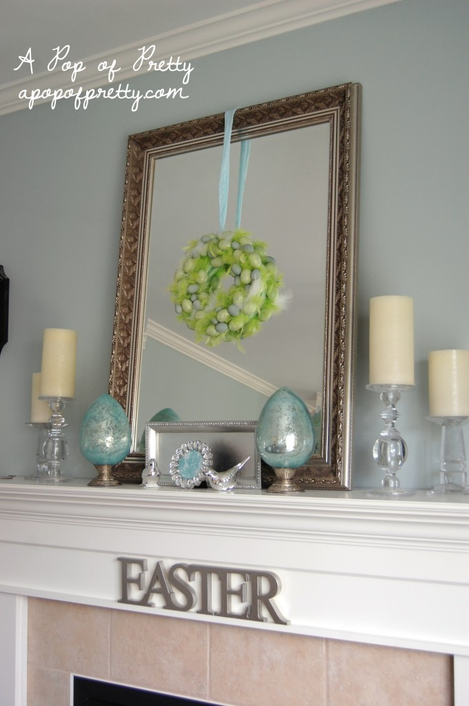 Easter Decorating Ideas Decorate a Simple Easter Mantel – Easter Mantel Decorations