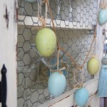 Easter decorating ideas - egg garland