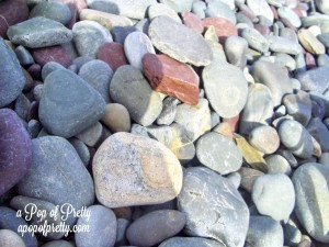 Beach Rocks-Newfoundland - Copyright A Pop of Pretty dot com