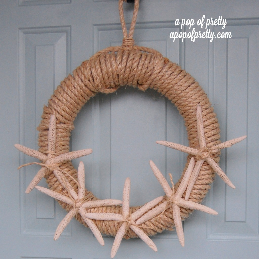 DIY Starfish Wreath