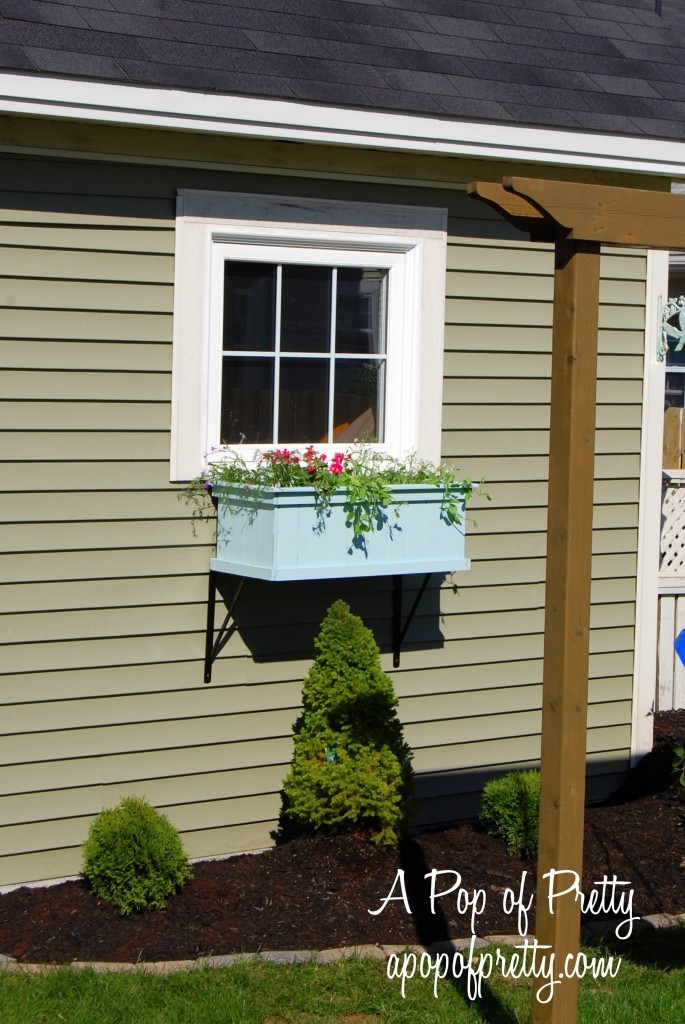 Decorating with a window box