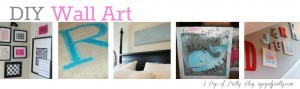DIY Wall Art Ideas Collage 31 Days
