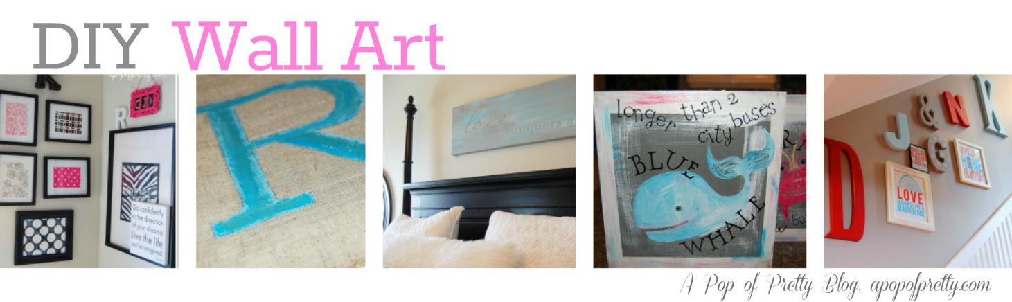 Diy Wall Art Collage : Diy wall art ideas decor a pop of