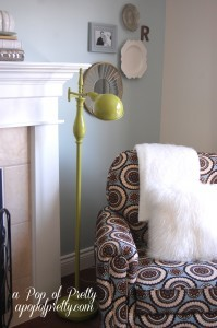 DIY Living Room Lamp Makeover