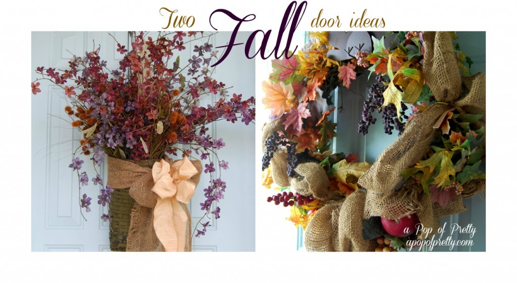 Fall Door Decor Ideas