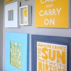 Framing Wall Art from Etsy Merchants (DIY Wall Decor Idea #14!)