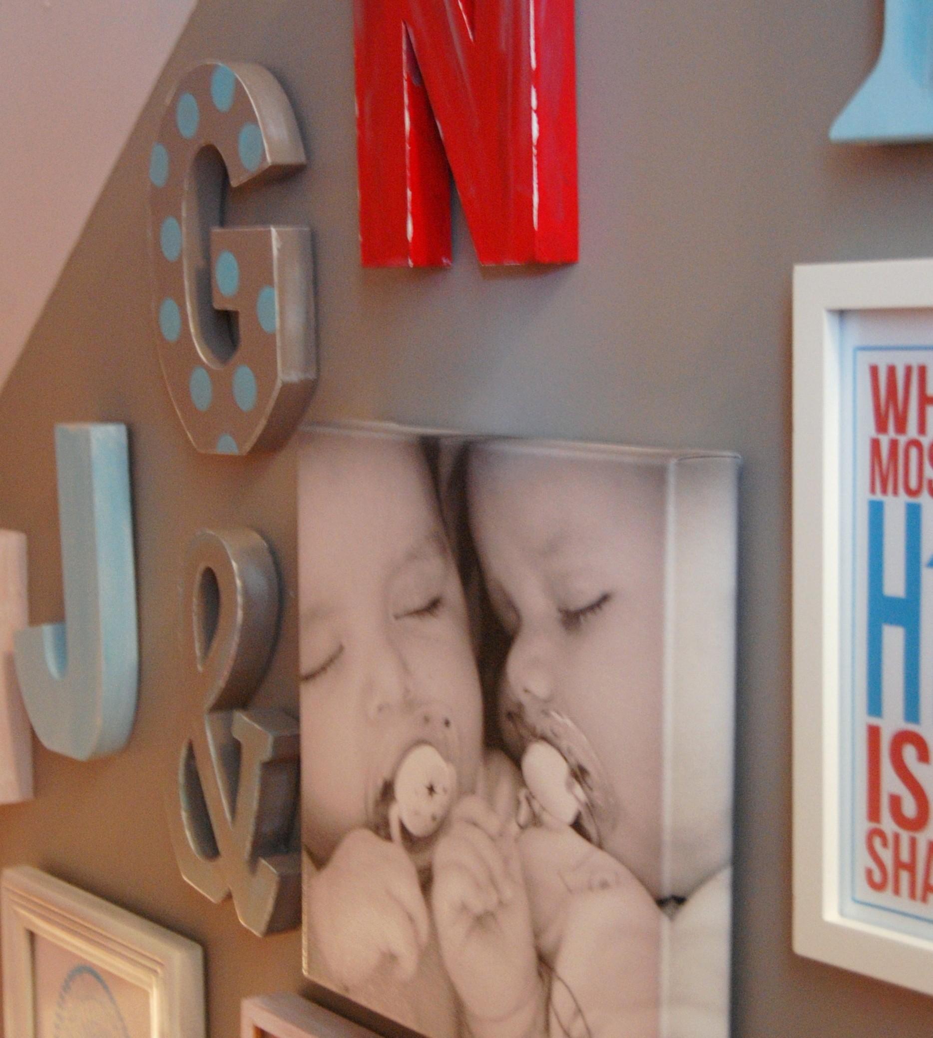 An 'Alphabet Soup' of DIY Wall Decor Ideas!