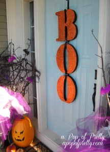 Giant Boo Letters