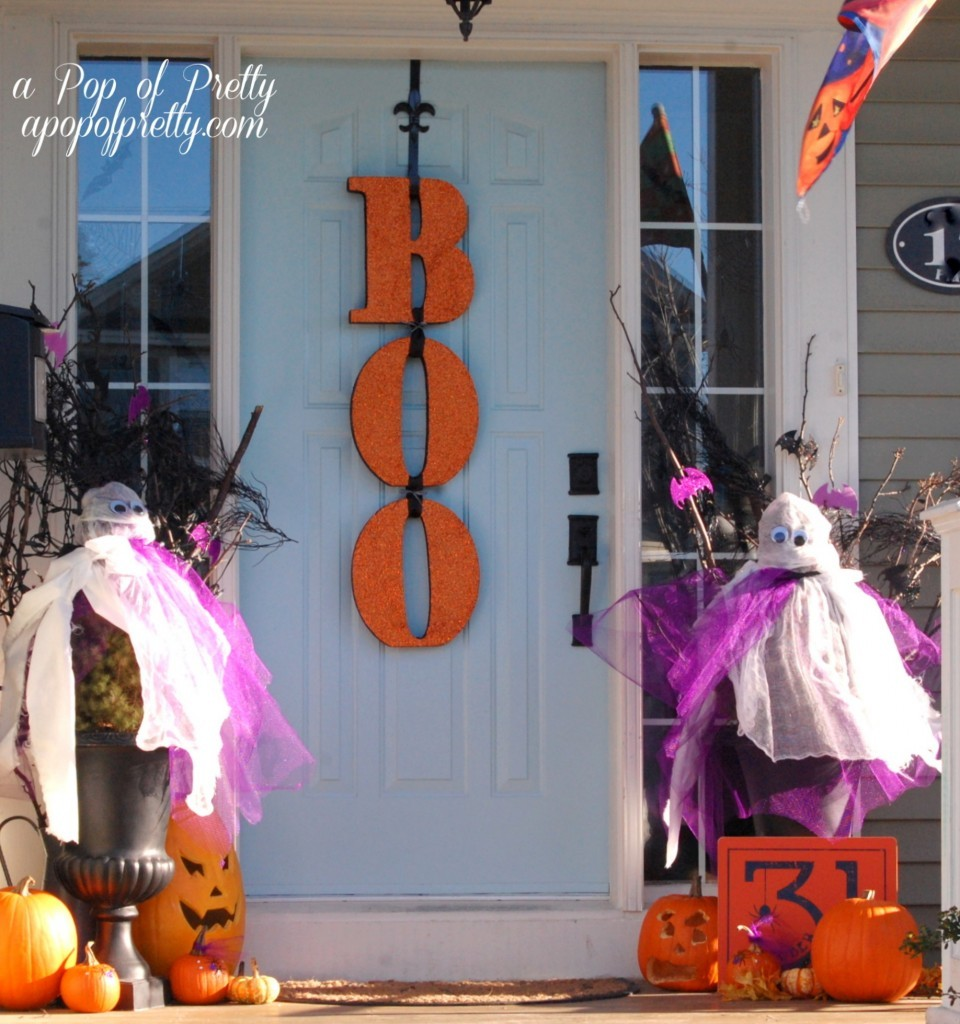 Outdoor fall decorating ideas front porch - Halloween Front Porch