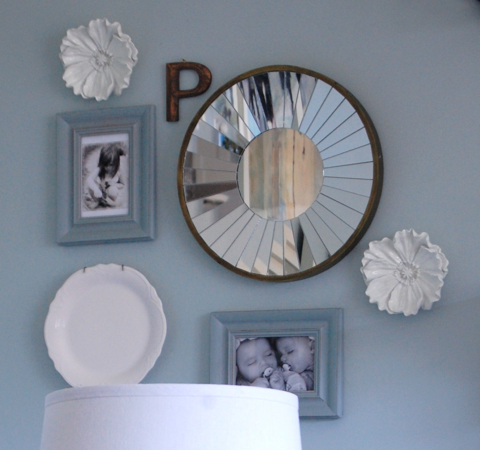 Diy Gallery Wall A Pop Of Pretty Blog Canadian Home Decorating Blog St John 39 S Canada A