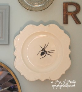 Spider plate