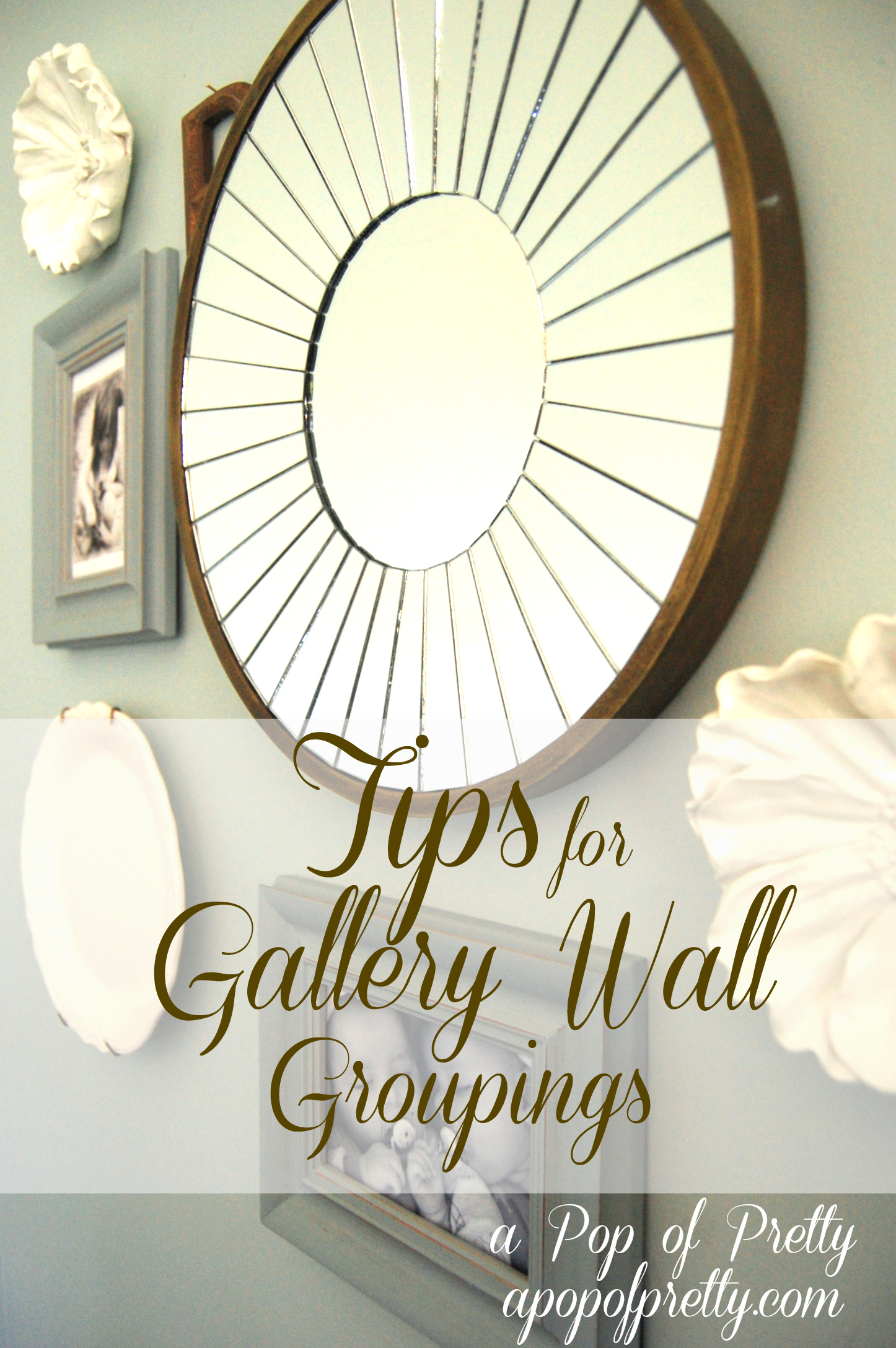 diy wall art idea gallery wall groupings a pop of