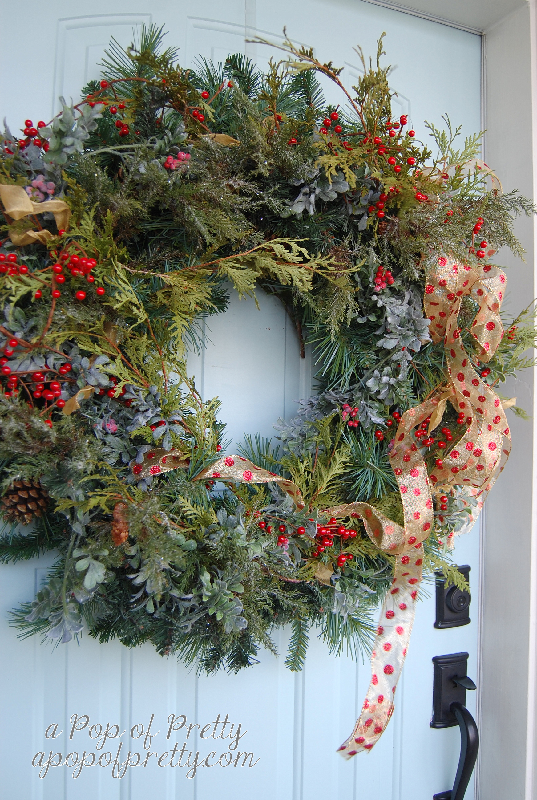 Christmas decorating ideas - wreath