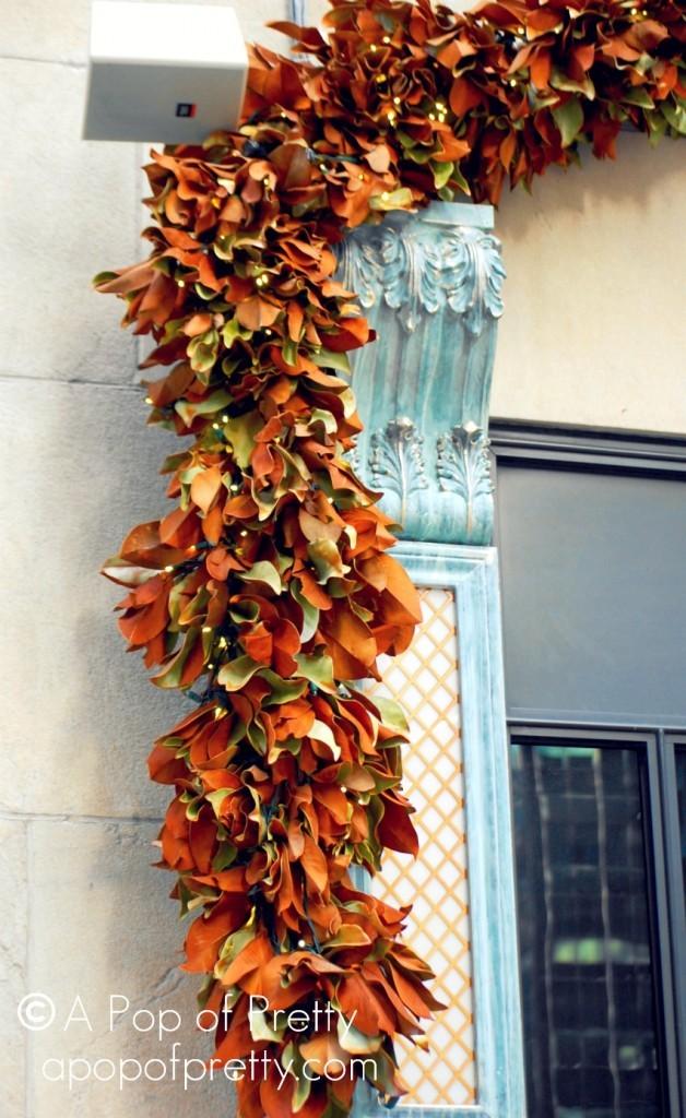 Magnolia Leaves Christmas NYC New York City
