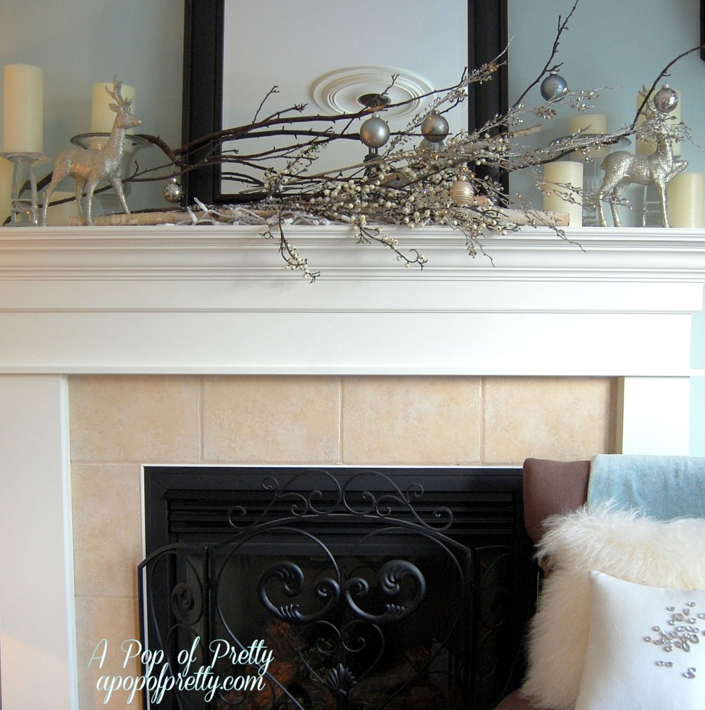 Winter Mantel Decorating Ideas