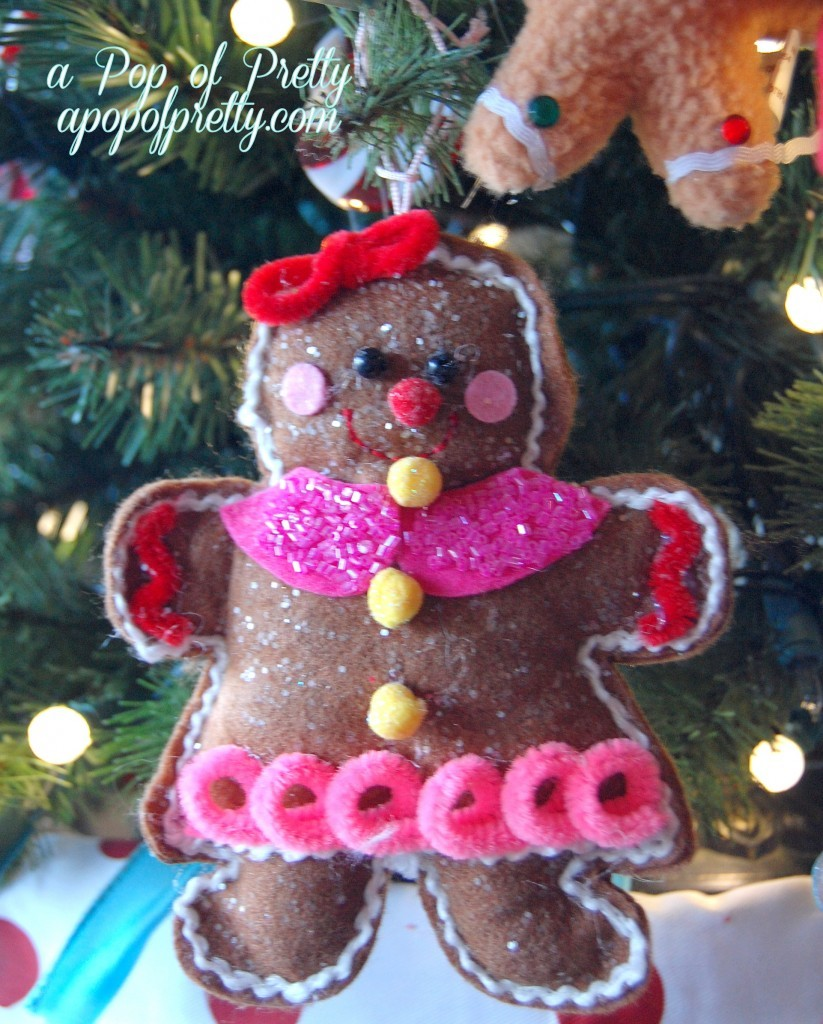 Themed Christmas tree ideas: Christmas cookies