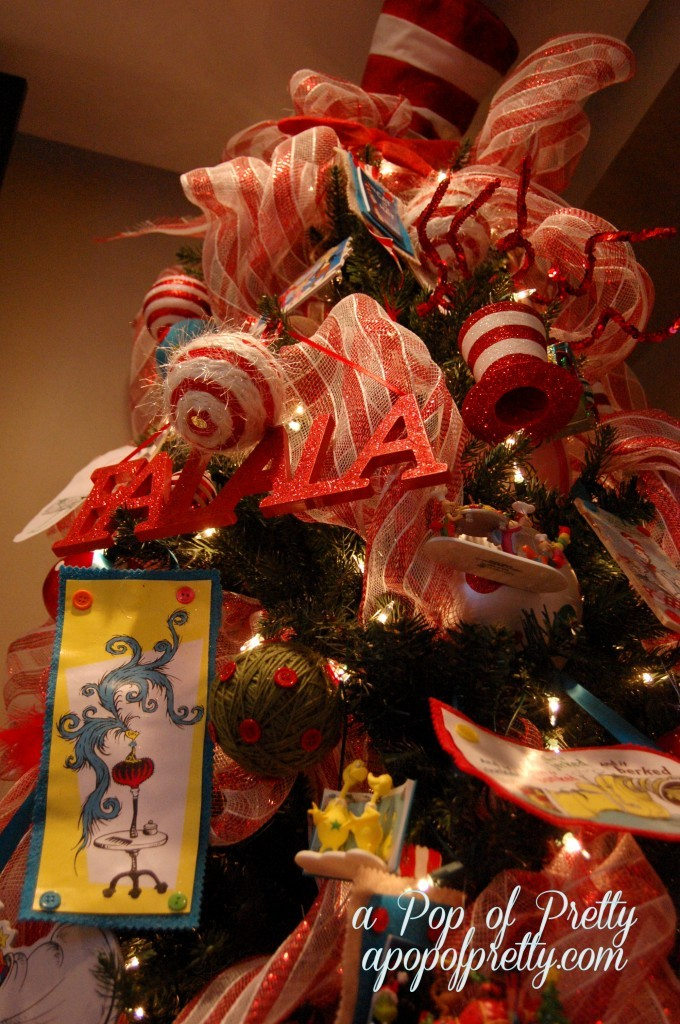 Decorate a Dr. Seuss Christmas Tree