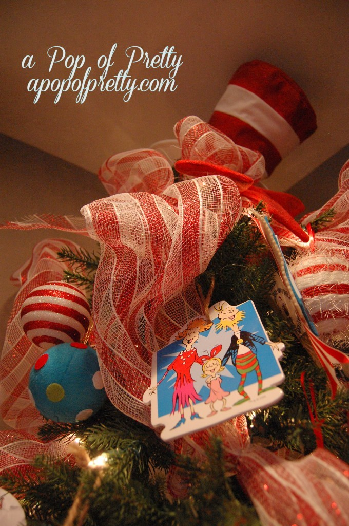 Cat in the Hat Christmas Tree Topper
