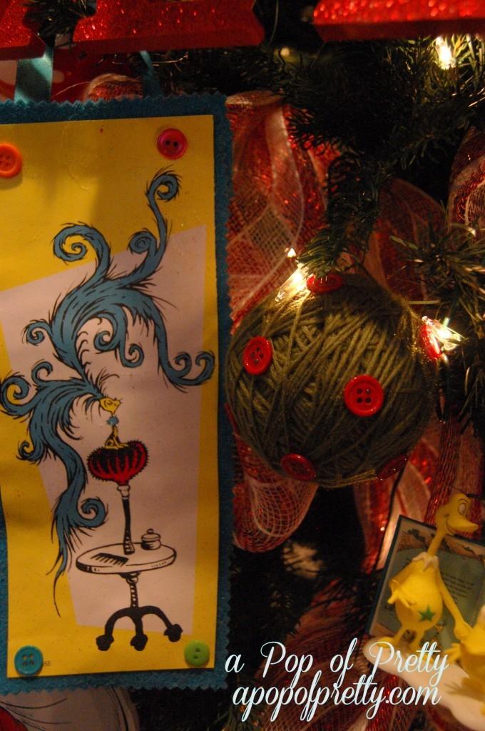 Dr. Seuss Christmas Ornaments