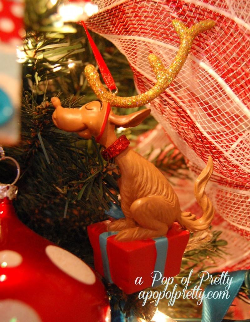 Max the Dog Christmas Tree Decoration