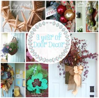 A Year of Door Decor