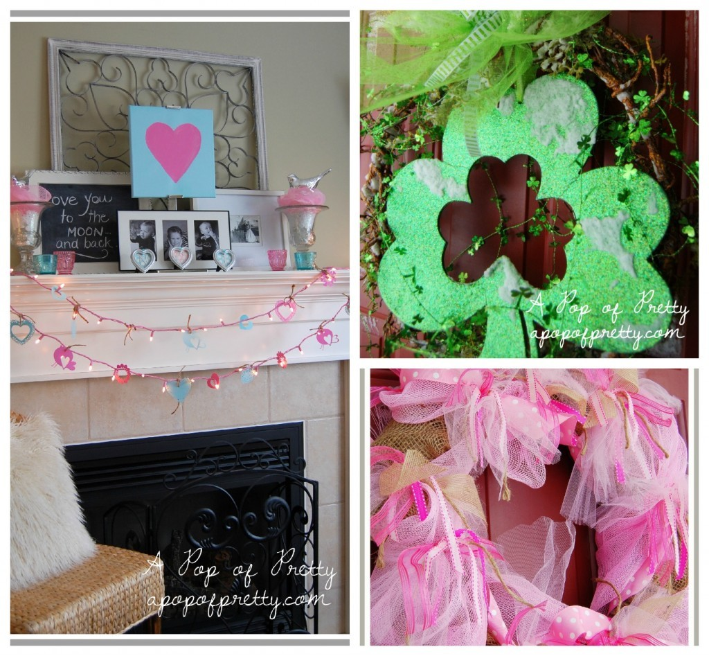 diy decorating - Valentine's Day