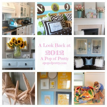 Decorating Blog Year in Review 2012