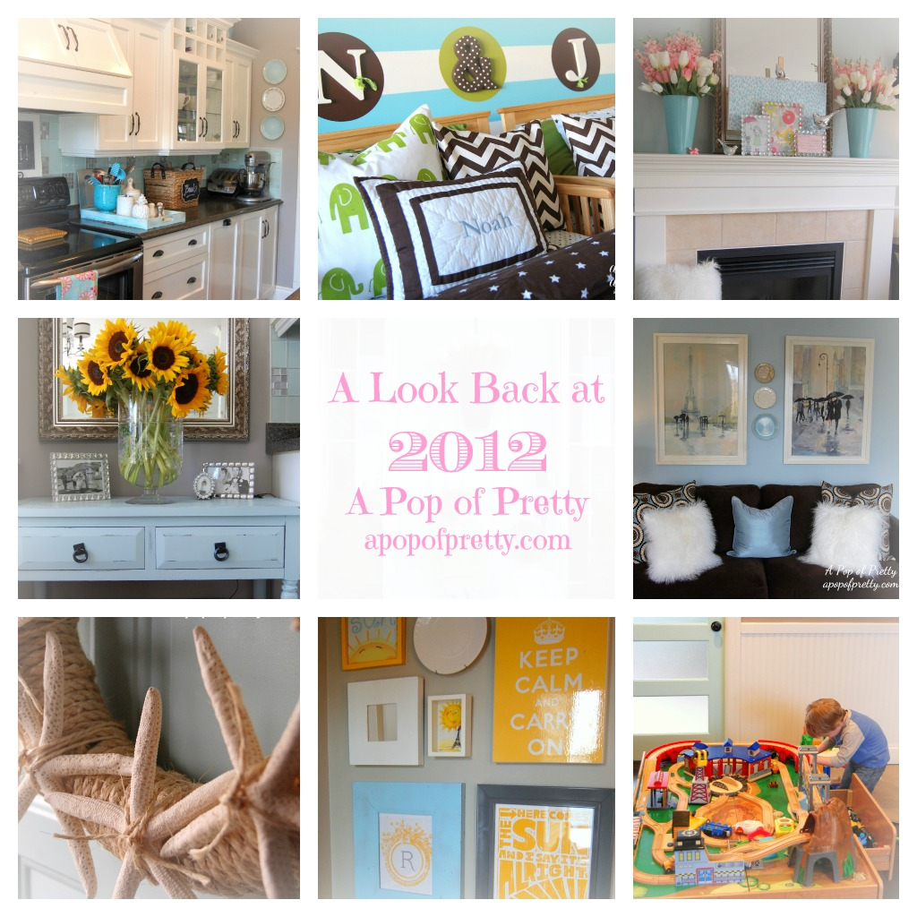 DIY Decorating Blog Year in Review 2012