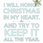 Free Printable for Christmas