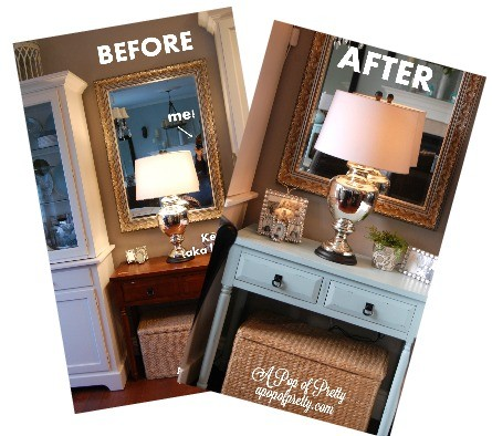 diy table makeover Martha Stewart Artesian Well