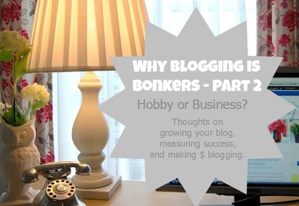 make money blogging - blogging is bonkers