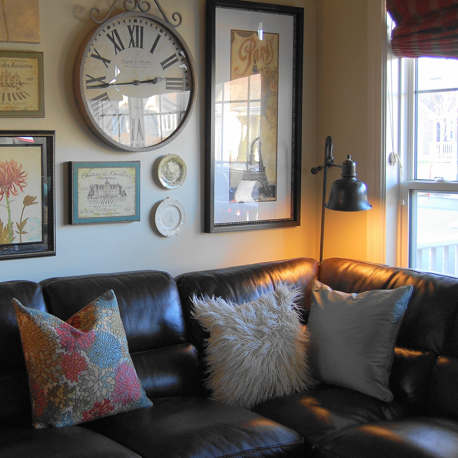 Living Room Decorating With Sectionals beauty the beast decorating with a sectional sofa 5 fab examples pop of pretty blog canadian home st