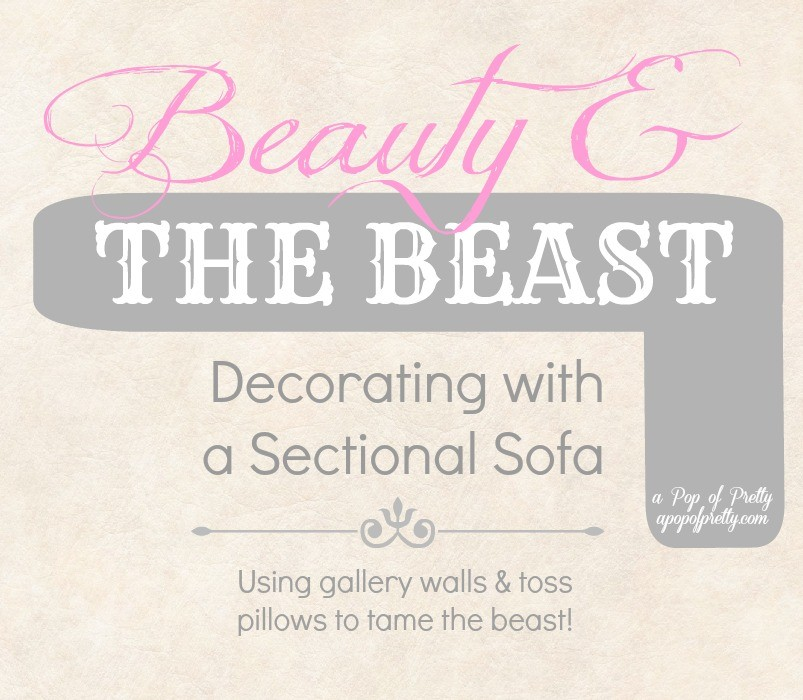 Decorating with a sectional sofa