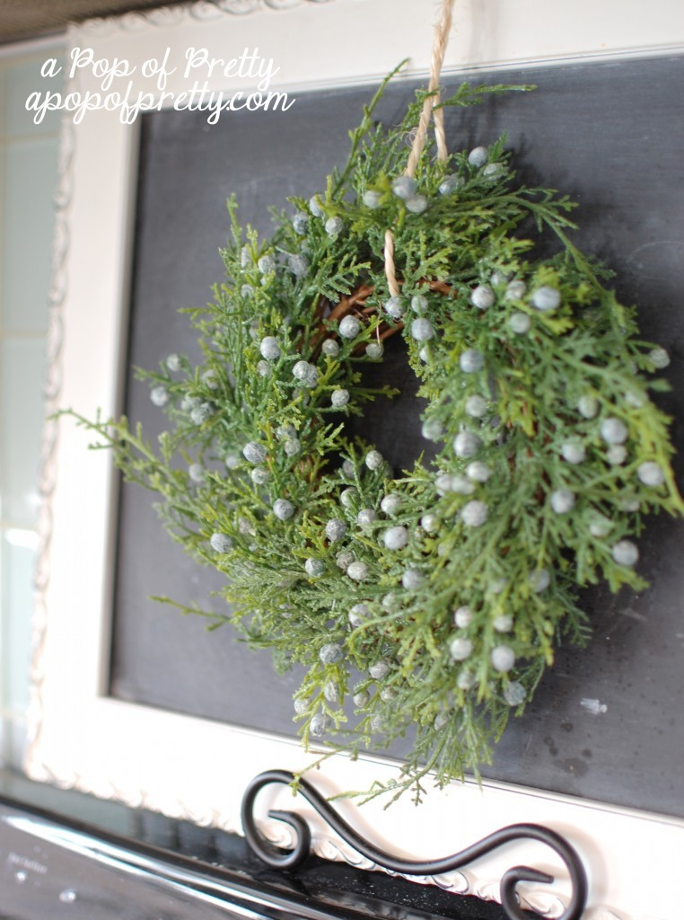 Winter decorating ideas let it grow a pop of pretty for Home decorations after christmas