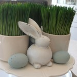 Easter decorating idea - Pier One bunny