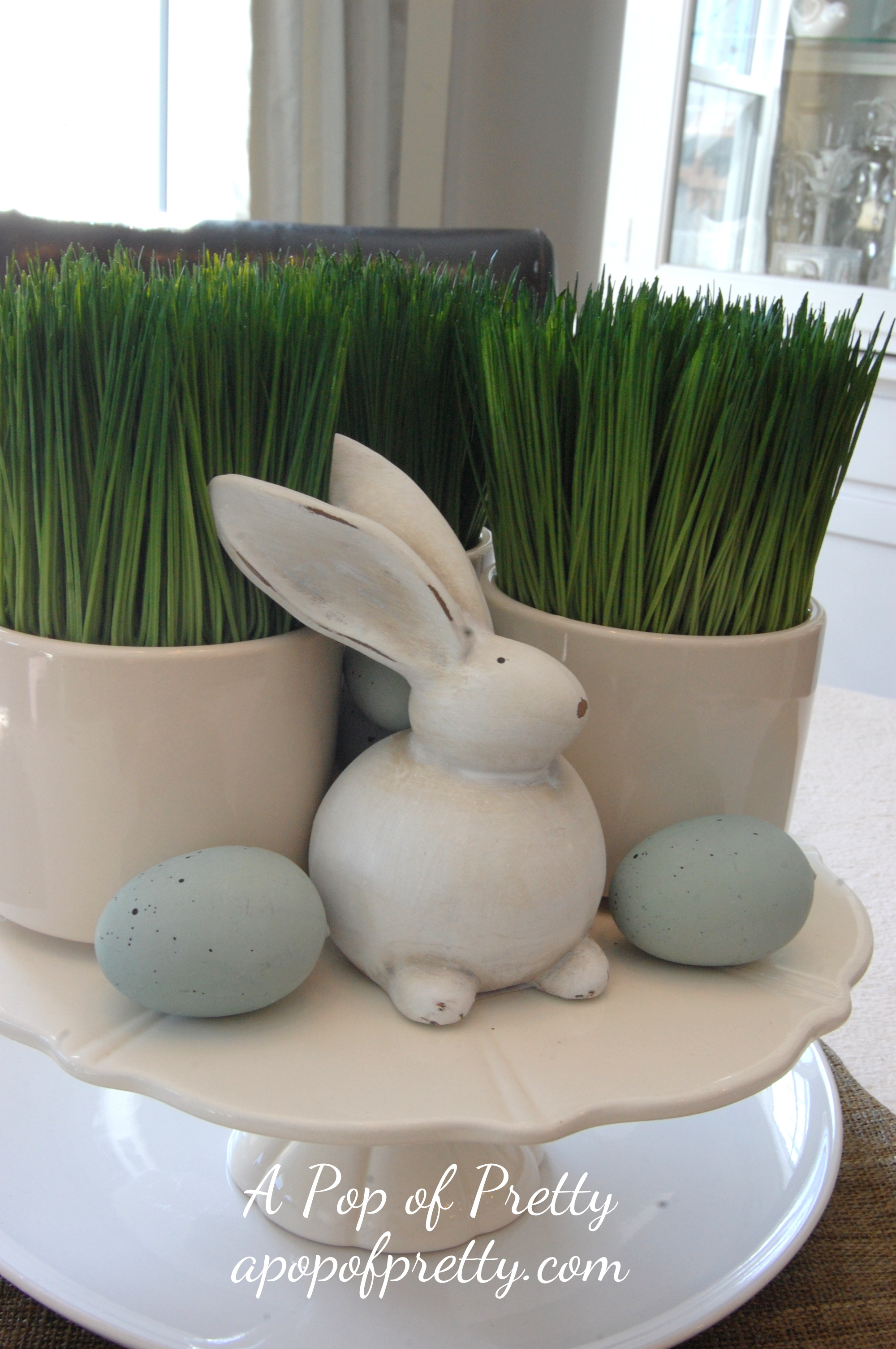 Easy Easter Decorating Ideas – Easter Mantel Decorations