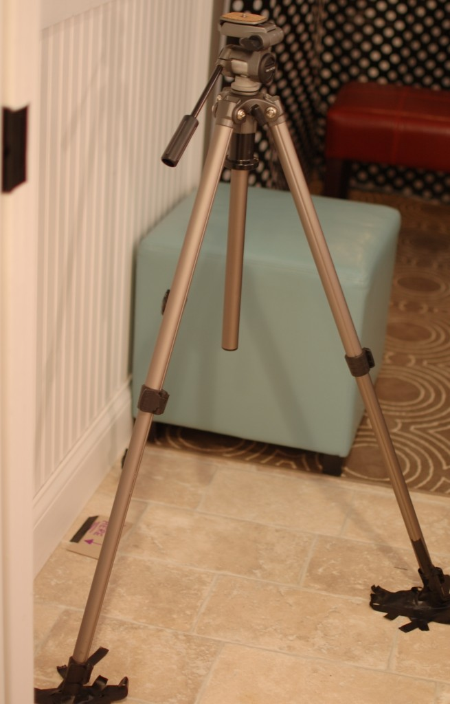 tripod for diy photo booth