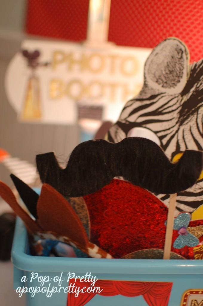 diy photo booth mustache