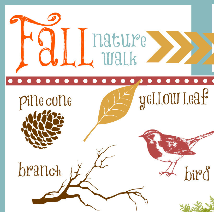 Nature Walk Printable