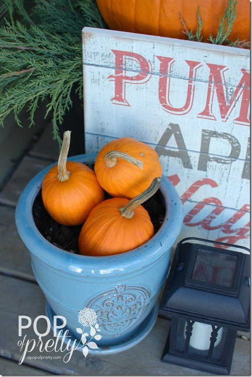 Fall Decorating - Front Porch Ideas