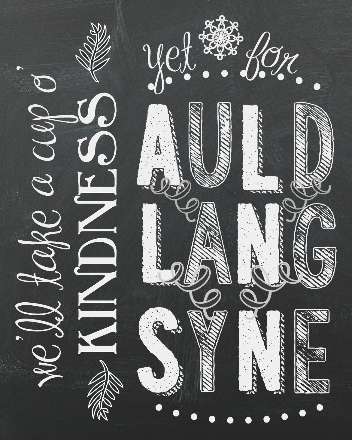 Breathtaking image regarding auld lang syne lyrics printable